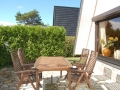 Terrasse - Ferienhaus Ferienzeit - Ferienhäuser in Ahrenshoop