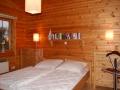 Schlafzimmer mit Doppelbett - Ferienhaus Strandgut - Ferienhäuser in Ahrenshoop