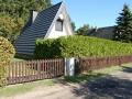 Blick von aussen - Ferienhaus Ferienzeit - Ferienhäuser in Ahrenshoop