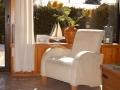 gemütliches Wohnzimmer - Ferienhaus Ferienzeit - Ferienhäuser in Ahrenshoop