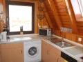 Küche mit Waschmaschine - Ferienhaus Ferienzeit - Ferienhäuser in Ahrenshoop