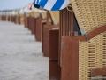Strandkörbe am Strand von Wustrow - Ferienhaus Ferienzeit - Ferienhaus Strandgut - Ferienhäuser in Ahrenshoop